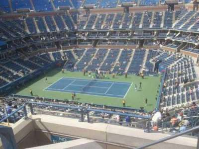 Arthur Ashe Stadium, section: 313, row: 1