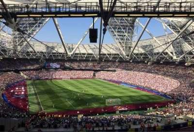 London Stadium section 219