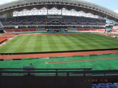Estadio Nacional de Costa Rica, section: Sombra Este E-23, row: H, seat: 16
