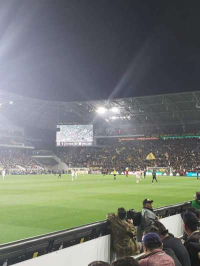 Banc of California Stadium, section: 117, row: C, seat: 24