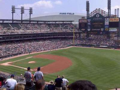 Comerica Park, section: 215, row: 3, seat: 8