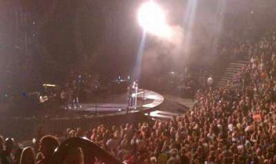 The Palace of Auburn Hills, section: 126, row: L, seat: 18