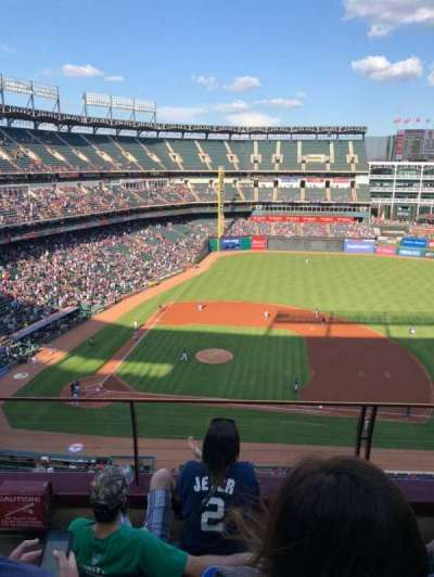 Globe Life Park in Arlington, section: 333, row: 4, seat: 2