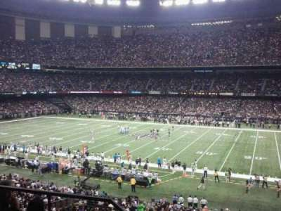 Mercedes-Benz Superdome section 309
