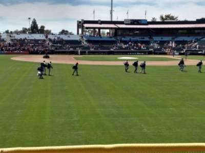 Scottsdale Stadium, section: Lawn