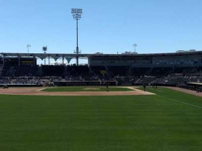 HoHoKam Stadium, section: Lawn