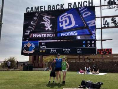 Camelback Ranch section Lawn