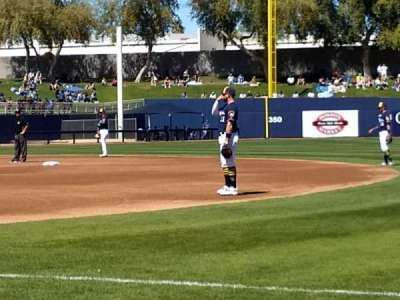 Maryvale Baseball Park, section: 115, row: b, seat: 16