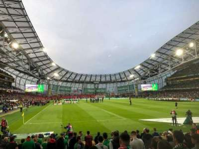 Aviva Stadium section 117