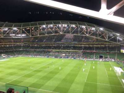 Aviva Stadium section 502