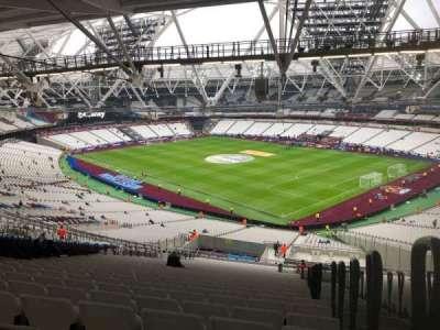 London Stadium section 243
