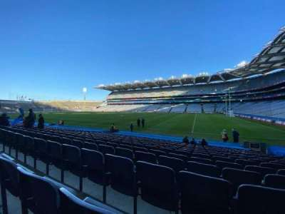 Croke Park, section: 327, row: R, seat: 22