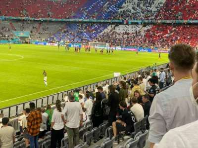 Allianz Arena section 119