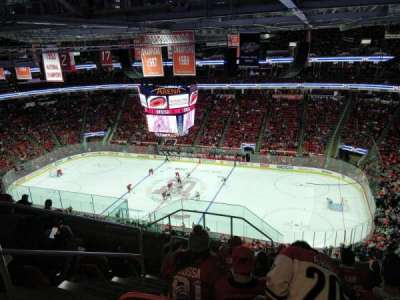 PNC Arena, section: 322, row: J, seat: 14