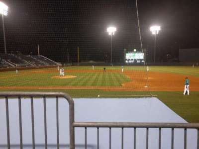 Boshamer Stadium, section: 104, row: D, seat: 6