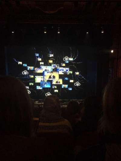 August Wilson Theatre, section: Center Mezzanine, row: E, seat: 106