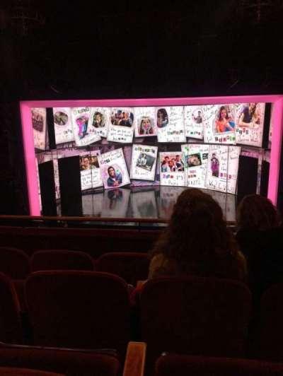 August Wilson Theatre, section: Center Mezzanine, row: D, seat: 104