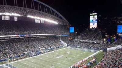 CenturyLink Field, section: 316, row: H, seat: 37