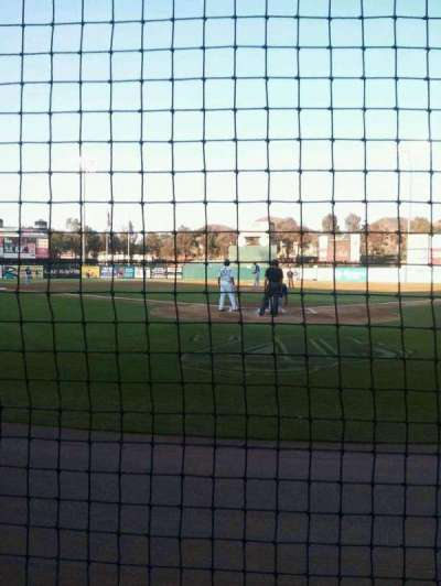 Lake Elsinore Diamond, section: 101, row: A, seat: 6