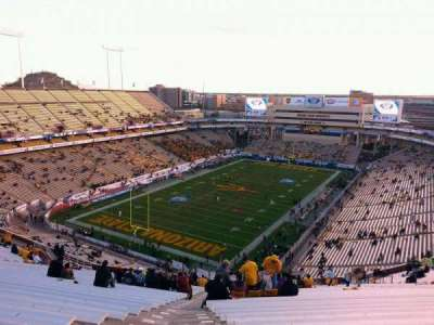 Sun Devil Stadium, section: 218, row: 27, seat: 19