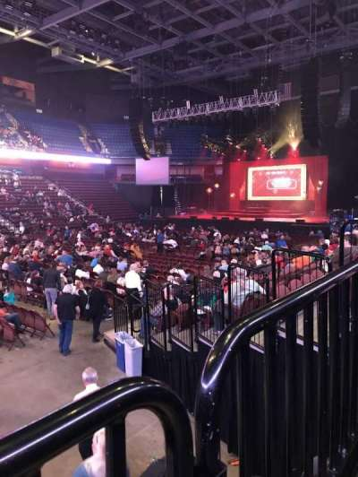 Mohegan Sun Arena, section: 17, row: K, seat: 15