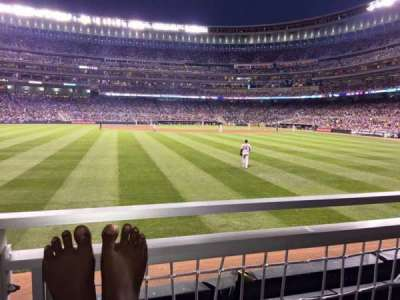 Target Field, section: 130, row: 1, seat: 5