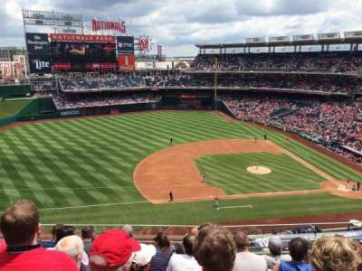Nationals Park, section: 307, row: F, seat: 15