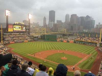 PNC Park, section: 318, row: H, seat: 8