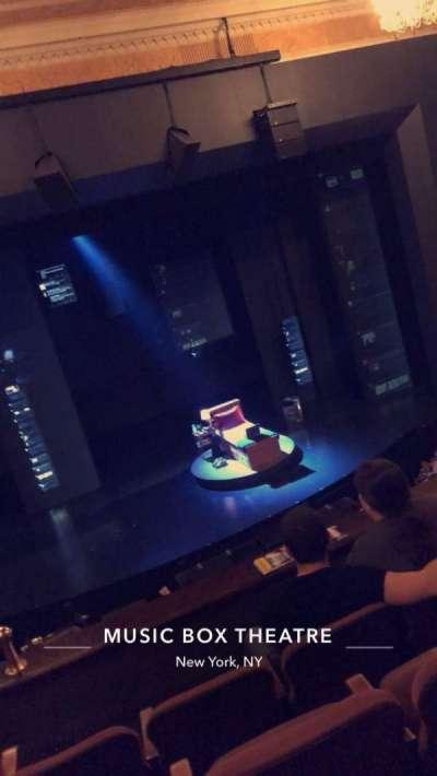 Music Box Theatre section Mezzanine C