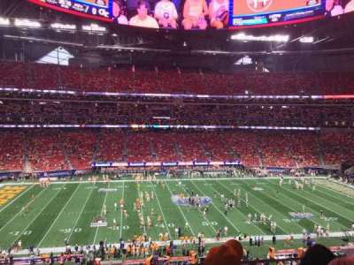 Mercedes-Benz Stadium, section: 239, row: 3, seat: 4