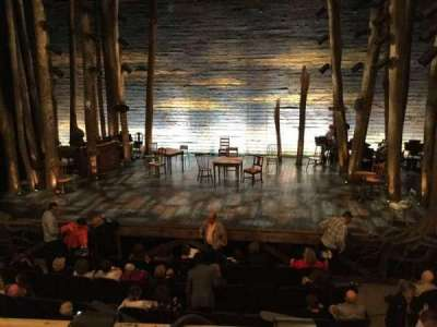 Gerald Schoenfeld Theatre, section: Center Mezzanine, row: A, seat: 112