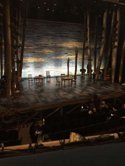 Gerald Schoenfeld Theatre, section: Mezzanine, row: A, seat: 5