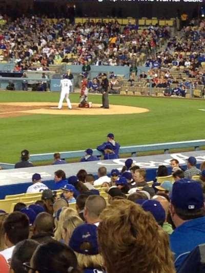 Dodger Stadium, section: 33FD, row: P, seat: 1