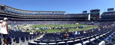 Qualcomm Stadium, section: F34, row: 21, seat: 3