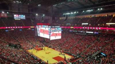 Toyota Center, section: 404, row: 6, seat: 14