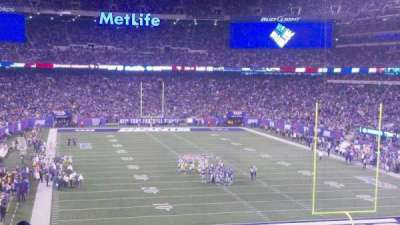 MetLife Stadium  section 228a