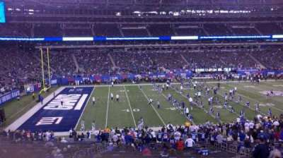 MetLife Stadium, section: 117, row: 25, seat: 8