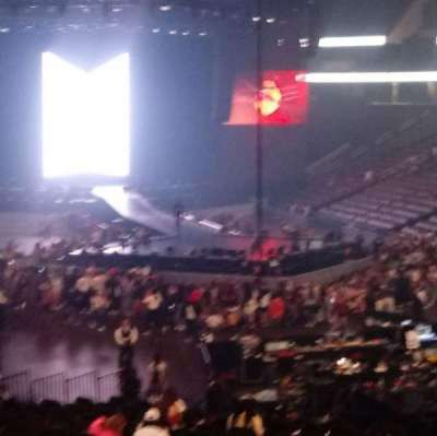 Prudential Center, section: 1, row: 21, seat: 6