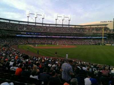 Comerica Park, section: 113, row: 26, seat: 7