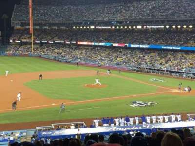 Dodger Stadium, section: 137lg, row: P, seat: 8