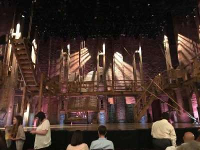Richard Rodgers Theatre, section: Orchestra C, row: E, seat: 107