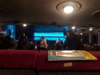 Broadhurst Theatre, section: Orchestra R, row: Standing Room, seat: 10