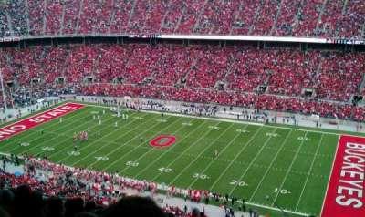 Ohio Stadium, section: 27D, row: 10, seat: 22