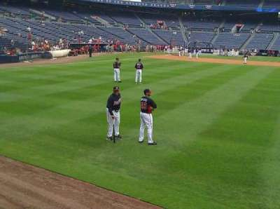 Turner Field, section: 137, row: 1st