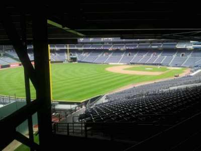 Turner Field, section: 328L, row: 6, seat: 101