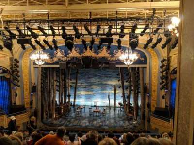 Gerald Schoenfeld Theatre, section: Center Mezz, row: K, seat: 110