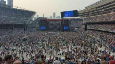 Soldier Field, section: 221, row: 11, seat: 10