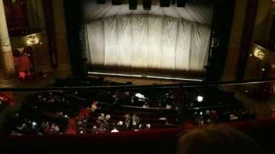Academy of Music, section: Family Circle E, row: C, seat: 101