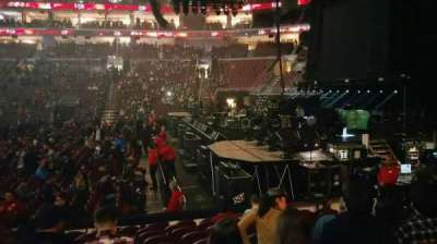 Wells Fargo Center, section: 115