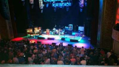 Capitol Theatre (Port Chester), section: Loge Right Center, row: AA, seat: 126
